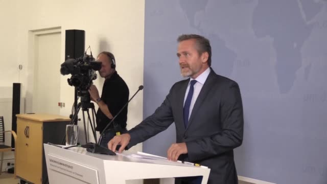 danish foreign minister anders samuelsen announces that denmark has recalled its ambassador to iran after it accused tehran of plotting a foiled... - oresund region stock videos & royalty-free footage