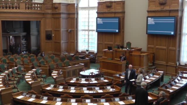 Danish Parliament held session about Armenian claims on 1915 incidents in Copenhagen Denmark on January 26 2017 Law makers voted on draft bill that...