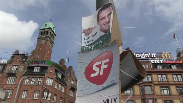 danish voters this week look set to end a decade of farright influence ousting the current government in favour of a centreleft coalition after a... - election stock videos & royalty-free footage