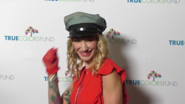 Danita Short at the Cyndi Lauper's True Colors Fund Inaugural Damn Gala at Hollywood Athletic Club on October 09 2016 in Hollywood California
