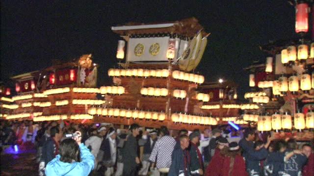 Danjiri Festival In Ehime, Japan