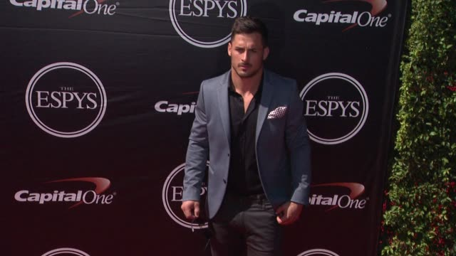 danny amendola at the 2015 espys at microsoft theater on july 15 2015 in los angeles california - microsoft theater los angeles stock videos and b-roll footage