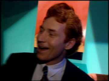stockvideo's en b-roll-footage met danny bonaduce at the natpe convention on january 25, 1995. - natpe convention