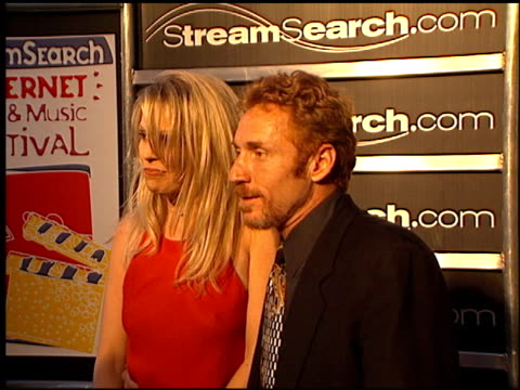 danny bonaduce at the streamsearch com awards at playboy mansion in los angeles california on april 4 2000 - playboy mansion stock videos & royalty-free footage