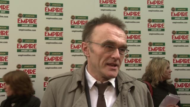 danny boyle on thinking about this award ceremony as first amongst equals and wishing he directed let the right one in a swedish vampire film at the... - swedish culture stock videos and b-roll footage