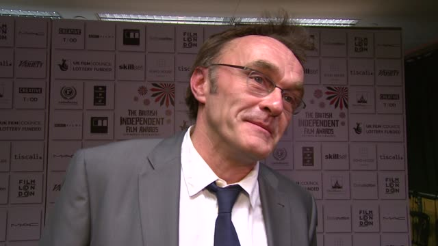 danny boyle on winning many awards, working in mumbai, the gritty realism of the film and how he can never judge if his film will be a success or not... - judge entertainment stock videos & royalty-free footage