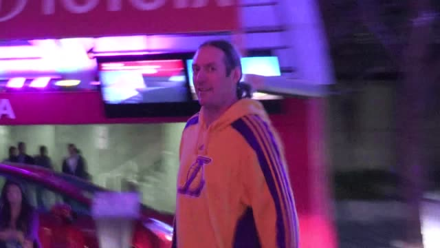 Danny Carey arrives at Staples Center in Los Angeles 04/03/12 Danny Carey arrives at Staples Center in Los Angel on April 03 2012 in Los Angeles...