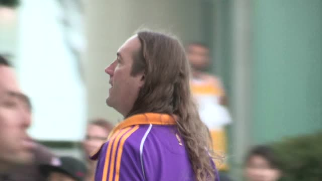 Danny Carey arrives at Staples Center in Los Angeles 05/12/12