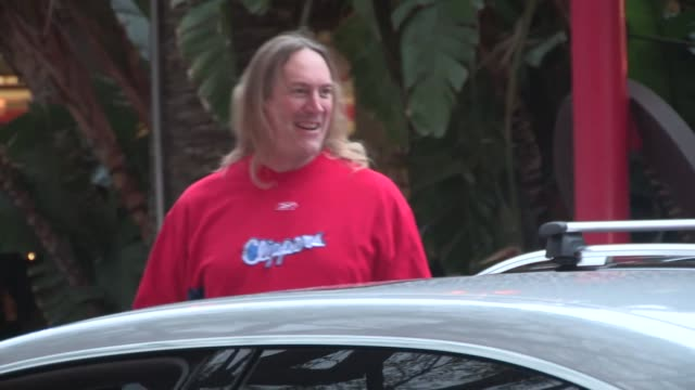 Danny Carey arrives at the Clippers vs Rockets Game 6 at the Staples Center in Los Angeles Celebrity Sightings in Los Angeles on May 14 2015 in Los...