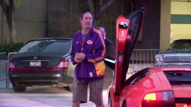 Danny Carey greets fans at Staples Center in Los Angeles 05/18/12