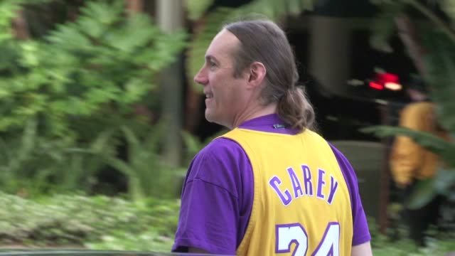 Danny Carey greets fans at Staples Center in Los Angeles 05/19/12