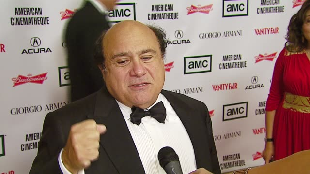 danny devito at the 2006 annual american cinematheque awards honoring george clooney at the beverly hilton in beverly hills, california on october... - american cinematheque stock-videos und b-roll-filmmaterial