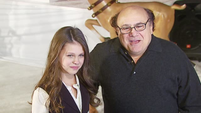 danny devito at the 20th century fox's 'deck the halls' world premiere at grauman's chinese theatre in hollywood, california on november 12, 2006. - 20th century fox stock videos & royalty-free footage