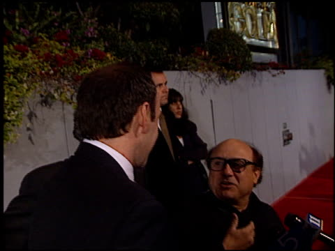 danny devito at the premiere of 'the big kahuna' at harmony gold in hollywood, california on april 26, 2000. - harmony gold preview theatre stock videos & royalty-free footage