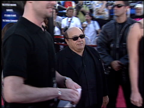 danny devito at the 'terminator 3: rise of the machines' premiere on june 30, 2003. - terminator 3: rise of the machines stock videos & royalty-free footage