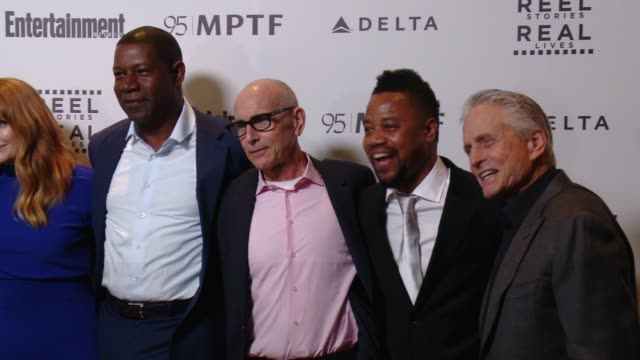 Danny DeVito Michael Douglas Bryce Dallas Howard Cuba Gooding Jr Dennis Haysbert at 5th Annual Reel Stories Real Lives Benefiting The Motion Picture...