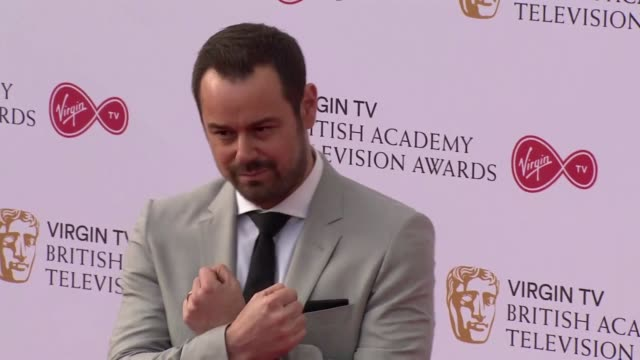 danny dyer at the royal festival hall on may 14 2017 in london england - british academy television awards stock videos & royalty-free footage