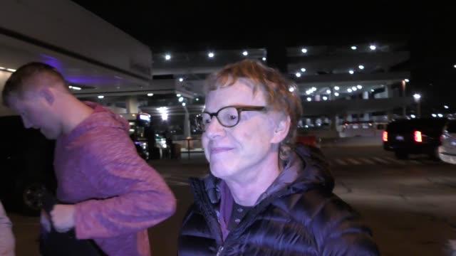 Danny Elfman arriving to the Sundance Film Festival at Salt Lake City Airport in Utah in Celebrity Sightings in Park City UT
