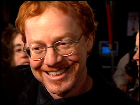 danny elfman at the 'scream 2' premiere at grauman's chinese theatre in hollywood, california on december 10, 1997. - scream named work stock-videos und b-roll-filmmaterial