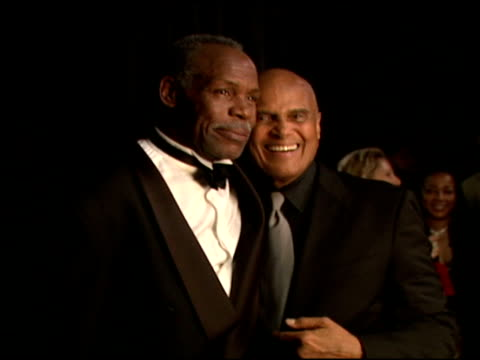 danny glover and harry belafonte at the 2006 bet awards portrait studio at the shrine auditorium in los angeles, california on june 27, 2006. - harry belafonte stock videos & royalty-free footage