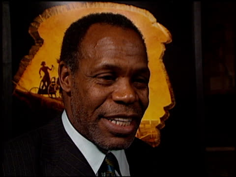 Danny Glover at the 'Prince of Egypt' Premiere at Royce Hall UCLA in Westwood California on December 17 1998