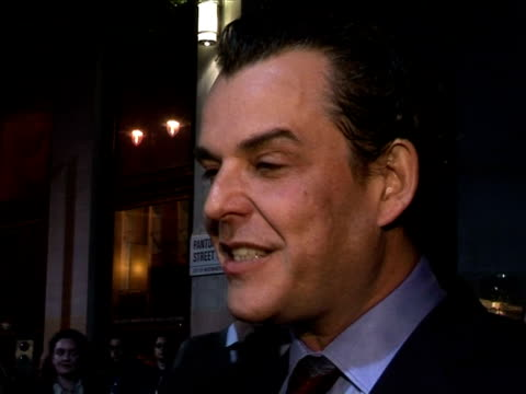 Danny Huston on Westerns as a genre at the The Times BFI 49th London Film Festival The Proposition on October 26 2005