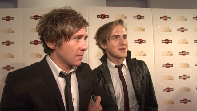 Danny Jones Tom Fletcher on how much they loved the film and the soundtrack A lot of their influences come from the music of the '60's and they also...