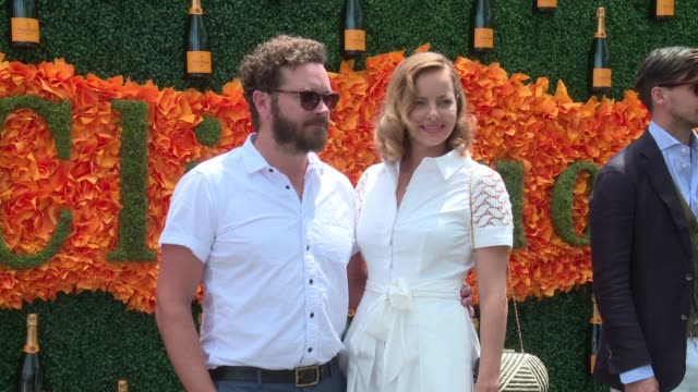 Danny Masterson Bijou Phillips at NinthAnnual Veuve Clicquot Polo Classic at Liberty State Park on June 4 2016 in Jersey City New Jersey