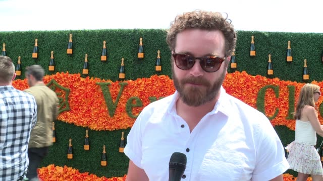 INTERVIEW Danny Masterson on enjoying the day at NinthAnnual Veuve Clicquot Polo Classic at Liberty State Park on June 4 2016 in Jersey City New...