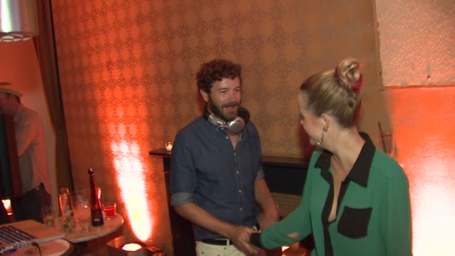 danny masterson, taryn manning at people stylewatch hosts hollywood denim party on 9/20/12 in los angeles, ca - taryn manning stock videos & royalty-free footage