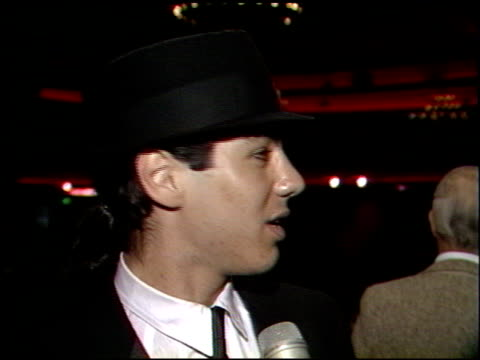 danny nucci at the faces international party at hollywood palladium in hollywood california on may 7 1989 - hollywood palladium stock videos & royalty-free footage