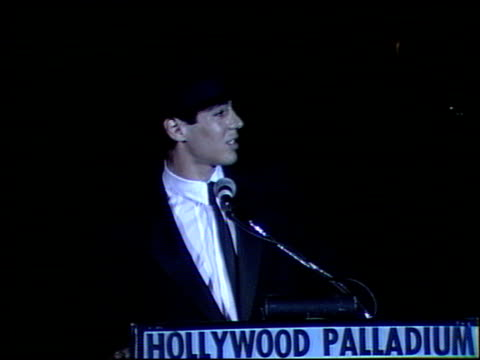 Danny Nucci at the Faces International Party at Hollywood Palladium in Hollywood California on May 7 1989