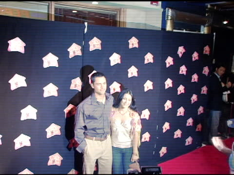 danny pino and wife lilly at the 3rd annual 'night with the friends of el faro' benefit hosted by molly sims on may 13, 2005. - molly sims stock videos & royalty-free footage