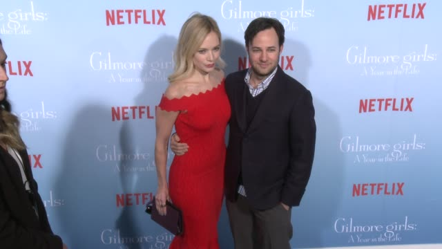 stockvideo's en b-roll-footage met danny strong at the premiere of netflix's gilmore girls a year in the life at regency bruin theater on november 18 2016 in westwood california - bruin theater