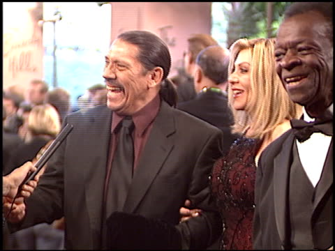 danny trejo at the night of 100 stars oscar gala at the beverly hilton in beverly hills california on february 29 2004 - 76th annual academy awards stock videos & royalty-free footage