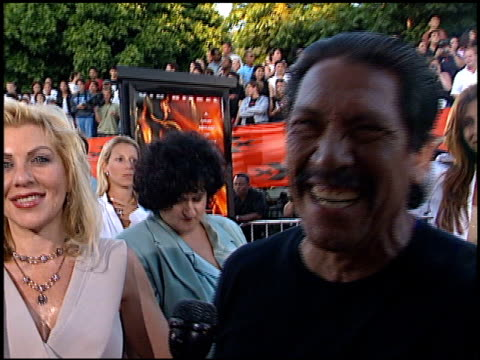 danny trejo at the 'xxx' premiere at the mann village theatre in westwood california on august 5 2002 - regency village theater stock-videos und b-roll-filmmaterial