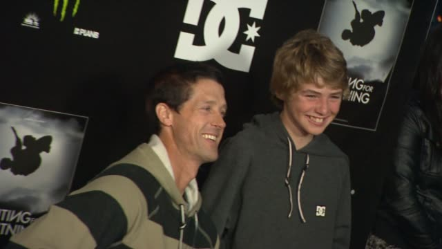 danny way tom schaar at waiting for lightning screening and afterparty presented by dc shoes a documentary about skateboarder danny way on 4/10/12 in... - dc shoes stock videos & royalty-free footage