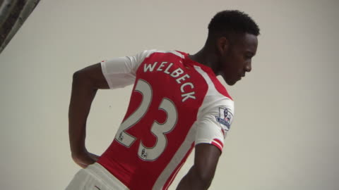 danny welbeck became arsenal's fifth signing of a busy summer when he joined the club on transfer deadline day. behind the scenes of his first... - exchanging stock videos & royalty-free footage