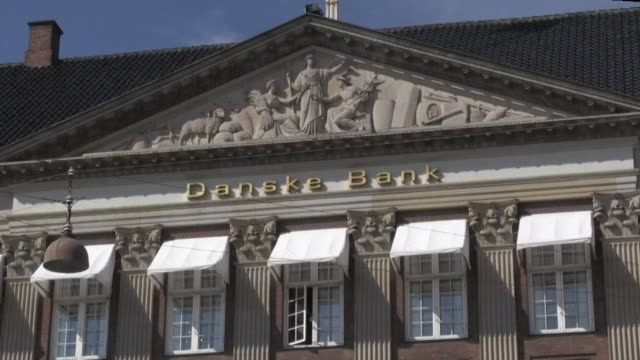 danske bank says it was being investigated by the us department of justice over possible money laundering related to more than $200 billion... - department of justice stock videos & royalty-free footage