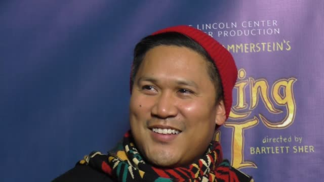 dante basco at the king and i opening night at the pantages theatre on december 15, 2016 in hollywood, california. - basco video stock e b–roll