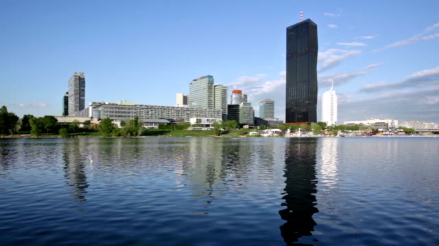donaustadt in wien - wien stock-videos und b-roll-filmmaterial
