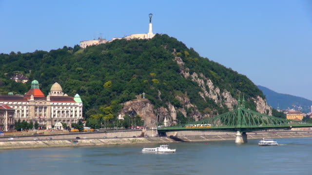 danube river - budapest, hungary. - traditionally hungarian stock videos & royalty-free footage