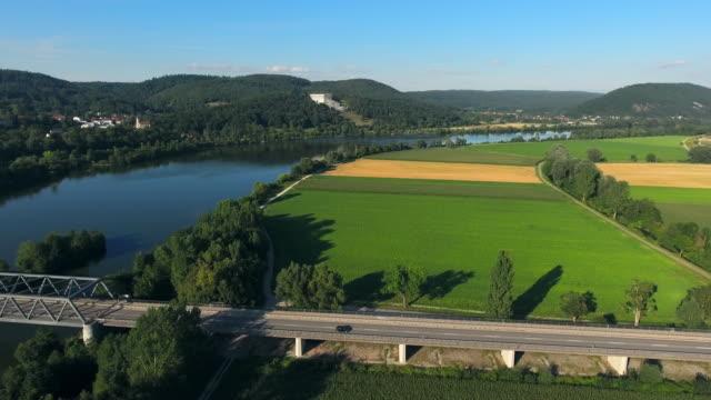 Danube Valley And Walhalla Memorial Near Regensburg