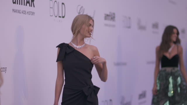 SLOMO Daphne Groeneveld at amfAR Gala Cannes 2018 at Hotel du CapEdenRoc on May 17 2018 in Cap d'Antibes France