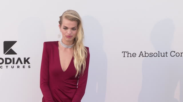 Daphne Groeneveld at the amfAR Cannes Gala 2019 Arrivals at Hotel du CapEdenRoc on May 23 2019 in Cap d'Antibes France