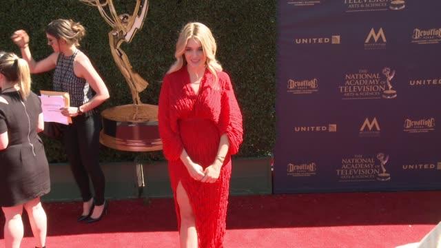 Daphne Oz at the 44th Annual Daytime Emmy Awards at Pasadena Civic Auditorium on April 30 2017 in Pasadena California