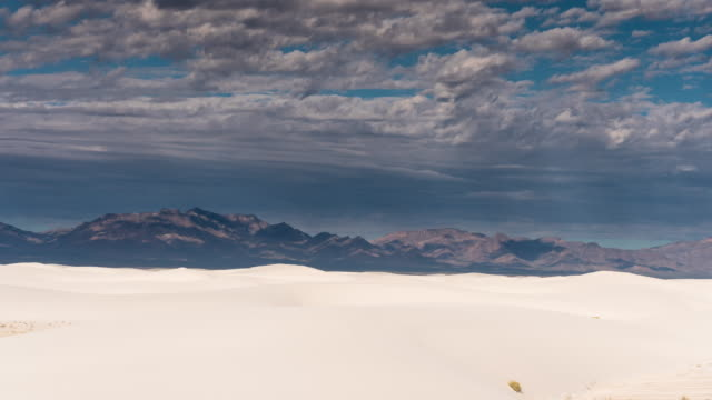 dappled light crossing white sands national monument - time lapse - dappled light stock videos and b-roll footage