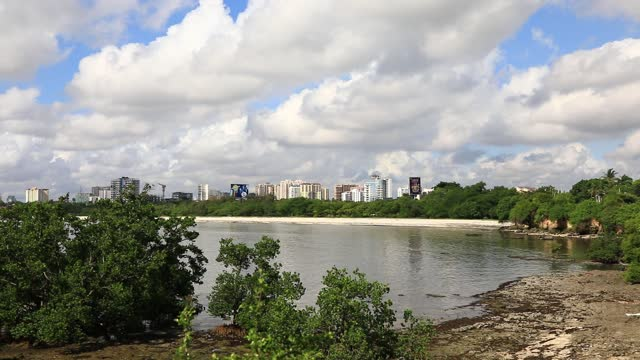 dar es salaam view - タンザニア点の映像素材/bロール