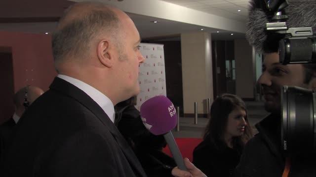 dara o'briain at the game british academy video games awards 2011 at london england - dara o'briain stock videos & royalty-free footage