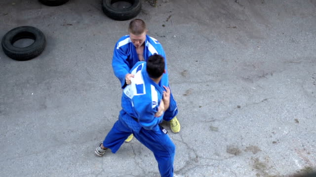 dare to fight - taekwondo stock videos & royalty-free footage
